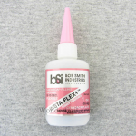 BSI120 Insta-Flex+ 1oz Clear Rubber Toughened CA Adhesive Glue