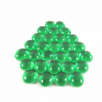 CHX01135 Light Green Glass Gaming Marker Stones (20 or More) Chessex