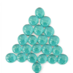 CHX01146 Teal Gaming Stones (22 stones or more per tube)