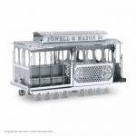 FASMMS002 Cable Car 3D Metal Model Kit Metal Earth Series Fascinations