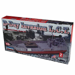 LIN70867 D-Day Invasion Landing Craft Transport Ship Plastic Model Kit