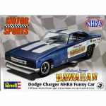 REV4287 Hawaiian Charger NHRA Funny Car Plastic Model Kit Revell