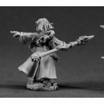 RPR03340 Cassie Female Gnome Wizard Miniature 25mm Heroic Scale Dark Heaven Legends Reaper Miniatures