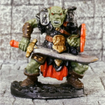 RPR20010 Orc Warrior With Scimitar Legendary Encounters by Reaper