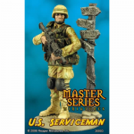 RPR30003 US Army Serviceman Miniature 54mm Scale Master Series