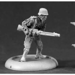 RPR37005 Kroid Machine Gunner Reich of the Dead Series Miniature