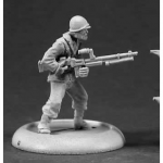 RPR37010 American Machine Gunner Reich of the Dead Series