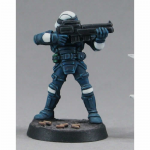 RPR50004 Security Guard Miniature 25mm Heroic Scale Chronoscope Series Reaper Miniatures