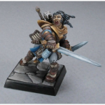 RPR60001 Valeros Iconic Male Human Fighter Miniature 25mm Heroic Scale