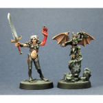 RPR60012 Nualia and Erylium Pathfinder by Reaper Miniatures