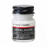 TES1768 Flat White Enamel Paint .5 oz bottle FS 37875 by Testors