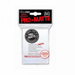 UPR82651 Pro-Matte White Card Sleeves 50 Count Ultra Pro