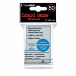 UPR82662 Mini American Board Game Card Sleeves 50 Count