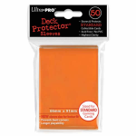 UPR82673 Orange Standard Card Sleeves 50 Count Ultra Pro