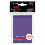 UPR82676 Purple Standard Card Sleeves 50 Count Ultra Pro