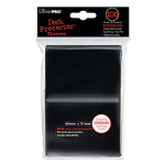 UPR82691 Black Standard Card Sleeves 100 Count Pack Ultra Pro