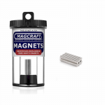 MACNSN0592 Rare Earth Magnets .125 Dia. (3.17mm) x .0312 (.793mm) Thick 150 Count Magcraft