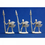 RPR77001 Skeletal Spearmen (Pack of 3) Miniatures Dark Heaven Bones Reaper Miniatures