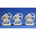 RPR77002 Orc Archers (Pack of 3) Miniatures Dark Heaven Bones Reaper Miniatures