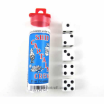 KOP01480 Ship Captain Crew Dice Game White Opaque Six Sided (D6)