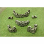 PEG5209 Sandbags (Extras) Emplacement Sections Miniature Terrain Pegasus Hobbies