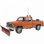 REV7222 GMC Pickup With Snow Plow 1/24 Scale Plastic Model Kit