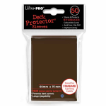 UPR84027 Brown Standard Card Sleeves 50 Count Ultra Pro