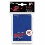 UPR82965 Blue Small Card Sleeves 60 Count Ultra Pro