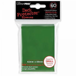 UPR82966 Green Small Card Sleeves 60 Count Ultra Pro