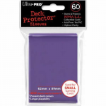 UPR82971 Purple Small Card Sleeves 60 Count Ultra Pro