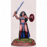 DSM1116 Chick In Chainmail No. 3 Female Fighter Miniature
