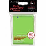 UPR84100 Light Green Small Card Sleeves 50 Count Ultra Pro