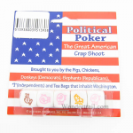 KOP17965 Political Poker Dice Game D6 16mm (5/8in) Pack of 5 Dice