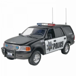 REV1972 Ford Police Expedition 1/25 Scale SnapTite