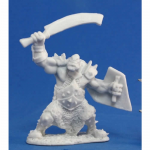 RPR77042 Orc Marauder with Sword and Shield (1) Miniature