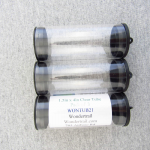 WONTUB21 Storage Tube 1.5in Diameter x 4in Long Pack of 3 Tubes