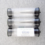 WONTUB22 Storage Tube 1.5in Diameter x 5in Long Pack of 3 Tubes