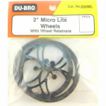 DUB200ML Micro Lite Wheels 2in Diameter (2) Du-Bro