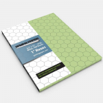 GGP1802 Green Gaming Paper 1in Hex Singles (100 Sheets)