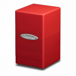 UPR84174 Red Satin Tower Deck Box Ultra Pro
