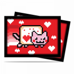 UPR84238 Valent Nyan Cat Standard Card Sleeves 50 Count