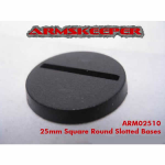 ARM02510 Round Slotted 25mm Bases Mega Pack (80)