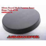 ARM02514 Round 30mm Multi Purpose Bases Mega Pack (50)