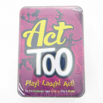 ASMACT01US Act Too Party Card Game Asmodee Editions