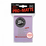 UPR84504 Lilac Standard Card Sleeves Pro Matte 50 Count Ultra Pro