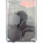 RPR74029 1in Hex Plastic Miniature Gaming Base (Pack of 20) Reaper Miniatures