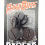 RPR74032 1in Round Plastic Miniature Gaming Base with Slot (Pack of 20) Reaper Miniatures
