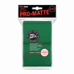 UPR84517 Green Standard Card Sleeves 100 Count Pro-Matte Ultra Pro