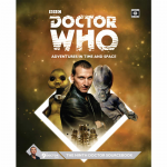 CB71118 The Ninth Doctor Sourcebook Doctor Who RPG Cubical 7 Entertainment