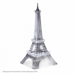 FASMMS016 Eiffel Tower 3D Metal Model Kit Metal Earth Series Fascinations